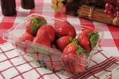 Fragole fresche — Foto Stock