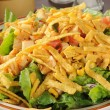 Closeup of taco salad with chicken - Stockfoto