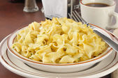 Buttered Noodles — Stock Photo