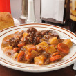 Hearty beef stew — Stock Photo