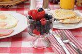 Zdrowe śniadanie — Zdjęcie stockowe