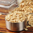 Uncooked rolled oats — Stock Photo