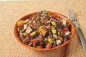 California quinoa salad — Stock Photo