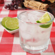 Lime spritzer — Stock Photo