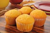 Maïsbrood muffins — Stockfoto