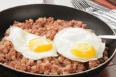 Corned beef hash — Stock Photo
