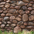 Rustic Stone Wall Background — Stock Photo