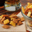 Party mix as bar snack — Stock Photo #28717571