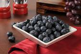 Organic blueberries — Stock Photo