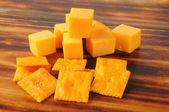Peynir ve kraker — Stok fotoğraf
