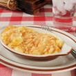 Stock Photo: Au gratin potatoes