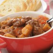 Stock Photo: Closeup of beef stew