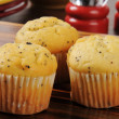 Poppyseed muffins — Stock Photo