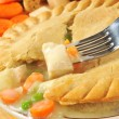 Chicken pot pie closeup — Stock Photo #32279283