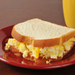 Scrambled egg sandwich — Stock Photo #32689327