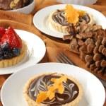 HOliday dessert buffet — Stock Photo