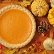 Sweet potato pie — Stock Photo