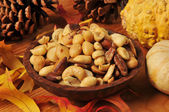 Mixed nuts for the holidays — Stock Photo