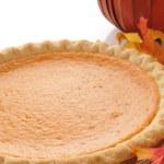Pumpkin pie — Stock Photo