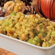 Stock Photo: Cornbread stuffing