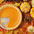 Pumpkin Pie — Stock Photo #33673823