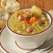 Cup of split pea soup — Stockfoto