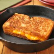 Grilled cheese sandwich — Stock Photo #35272021