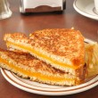 Grilled cheese sandwich — Stock Photo #35519869