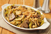 Green bean casserole — Stock Photo