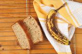 банановый хлеб — Стоковое фото