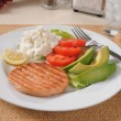 Healthy diet plate — Stockfoto
