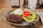 Low carb diet meal — Stock Photo