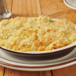 Chicken Rice Casserole — Stock Photo