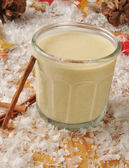 Holiday egg nog — Foto Stock