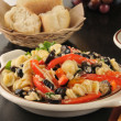 Parmesan pasta salad — Stock Photo