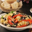Stock Photo: Parmesan pasta salad