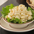 Bowl of macaroni salad — Stock Photo