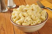 Parmesan macaroni and cheese — Stock Photo