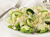 Cucumber salad — Stock Photo