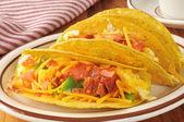 Breakfast tacos — Stock Photo