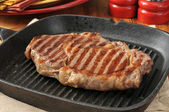 Grilled rib steak — Foto Stock