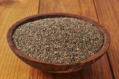 Mísa chia semen — Stock fotografie