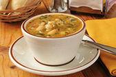 白豆のスープ — ストック写真