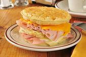 Waffle Sandwich — Stock Photo