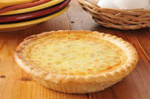 Homemade quiche — Stock Photo