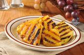 焼きパイナップル スライス — ストック写真