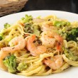 Shrimp linguini  — Stock Photo #50502953