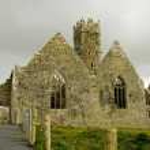 Landscape of Ross Friary Ireland. — Stock Photo #10631605