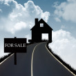 Royalty-Free Stock Photo: House for sale graphic