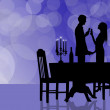 Romantic dinner — Stock Photo #12651001